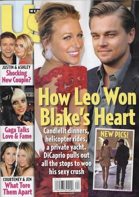 Us Weekly Blake Lively Leonardo Dicaprio Walt Disney